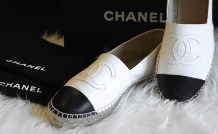 White Leather Chanel