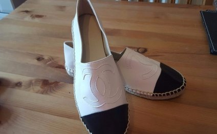 Chanel style espadrilles uk5in