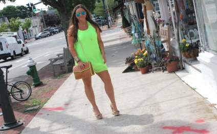 Neon neonshiftdress