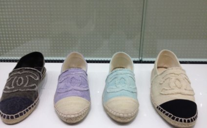 Fake Chanel Espadrilles