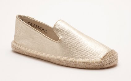 Glassons metallic espadrilles