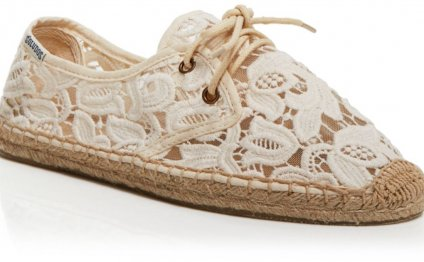 Soludos Lace Up Espadrille