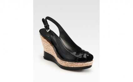 Espadrille Wedge Pumps in