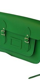 A Cambridge Satchel Company bag, £139, is spacious and will last a very long time