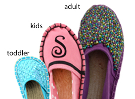 Dritz Espadrilles young ones,  toddler and adult jute soles