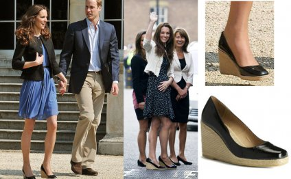 Kate Middleton Wedges Espadrilles
