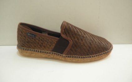 Men Leather Espadrilles