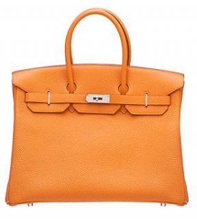 ORANGE TOGO LEATHER