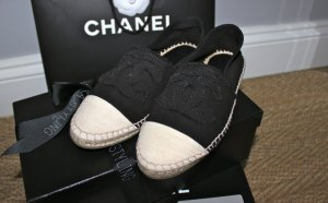 Chanel Espadrilles Canvas Shoes