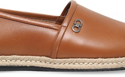 Leather Espadrilles Men