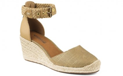 Espadrilles Wedges Closed Toe