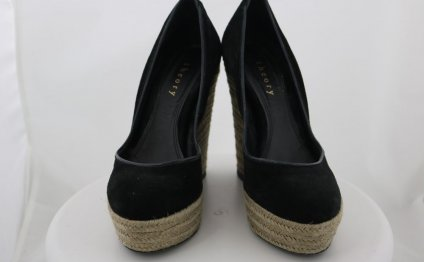 Womens Black Espadrilles