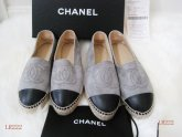 Chanel leather Espadrilles Flats