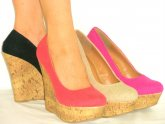 Closed Toe Espadrille Wedges Shoes